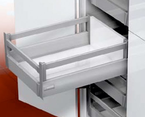 DWD XP Inset Drawer With Rectangular Railing